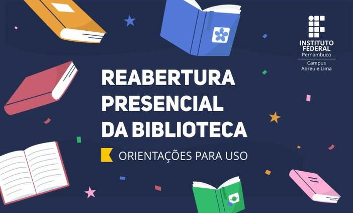 Biblioteca do Campus Abreu e Lima retoma atendimento presencial