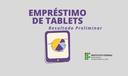 Banner empréstimo de tablets