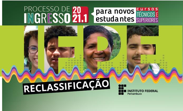 IFPE Abreu e Lima divulga 3ª lista de reclassificação de Processo Seletivo 2021.1