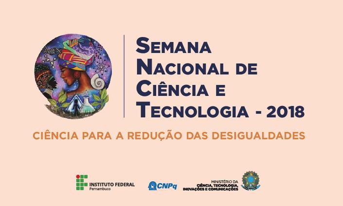 Campus Barreiros divulga programação da Semana de Ciência e Tecnologia