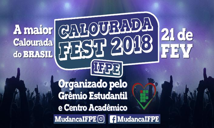 Grêmio Estudantil promove calourada nesta quarta-feira (21)
