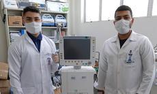 Clovis de Lira e Walber Mendes atuam no Hospital Mestre Vitalino