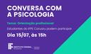 CONVERSA COM A PSICOLOGIA