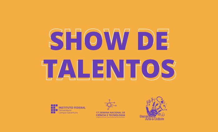 Prorrogada inscrição para o 6º Show de Talentos