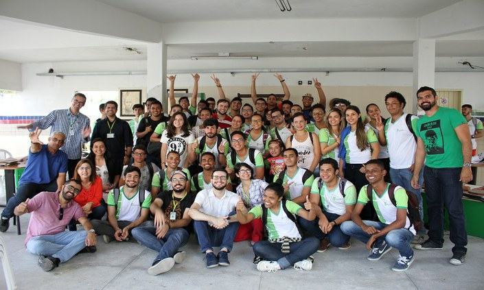 Projeto estimula empreendedorismo e colaboração entre estudantes
