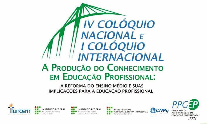 IFRN realiza colóquio sobre Educação Profissional