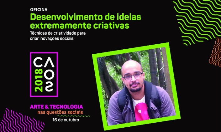 Oficina gratuita de criatividade é oferecida no Campus Recife