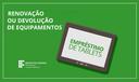 Devolução tablets