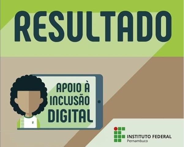 Resultado da segunda chamada do Programa de Inclusão Digital