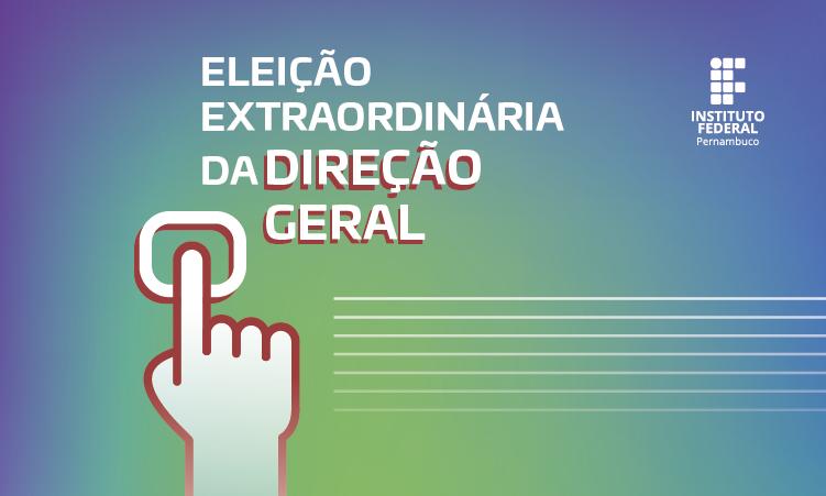eleições diretoria geral do campus