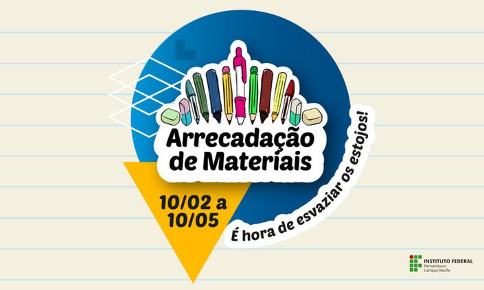 Biblioteca do MPGA promove mais uma campanha para arrecadação de resíduos escolares