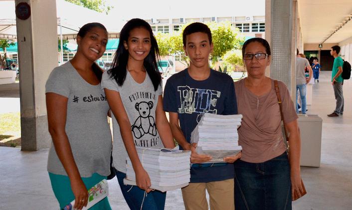 Campus faz atividade de acolhimento aos estudantes novatos