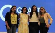 Carol Bello (DPI/Campus Recife), Socorro Macedo (Le Fil), Verônica Dantas (presidente ADVB/PE) e Ana Paula Vilaça (secretária de Turismo, Esportes e Lazer do Recife)