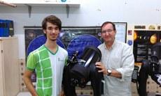 Juventino Férrer representará o Brasil em Olimpíada Internacional de Astronomia