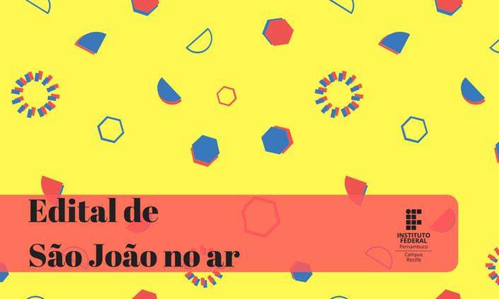 IForró   Edital de barracas está no ar