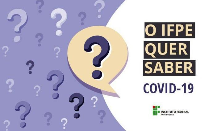 Campus Vitória divulga os resultados locais do questionário de monitoramento unificado feito entre os dias 15 e 22 de julho