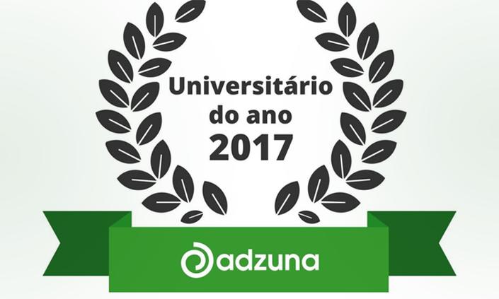 """Abertas inscrições para o prêmio """"Universitário do Ano 2017"""""""