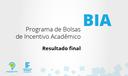 BIA 2017 - Resultado Final