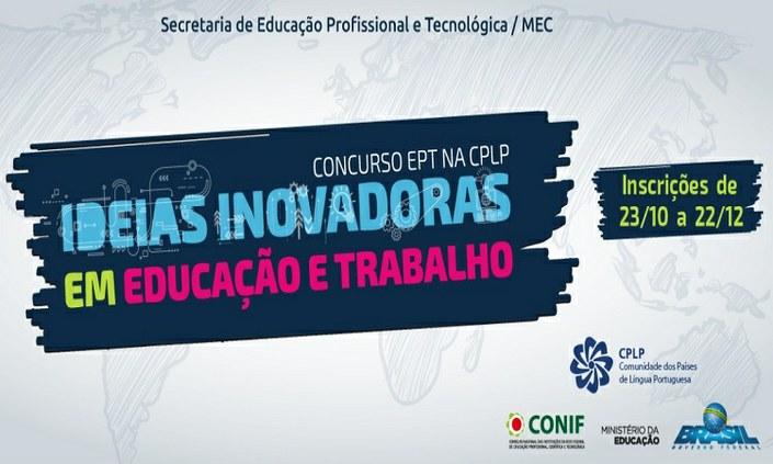 """Seguem inscrições para concurso """"Ideias Inovadoras em Educação e Trabalho"""""""