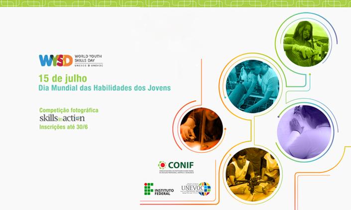 Estudantes podem participar de concurso de fotografia do Dia Mundial das Habilidades dos Jovens
