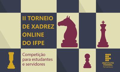 Torneio é classificatório para o eJIF Games nacional. Podem participar estudantes e servidores
