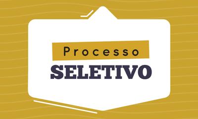 Processo seletivo - banner
