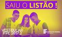 Listão - Vestibular 2017.2