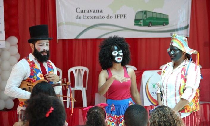 IFPE leva Caravana de Extensão para o município de Glória do Goitá