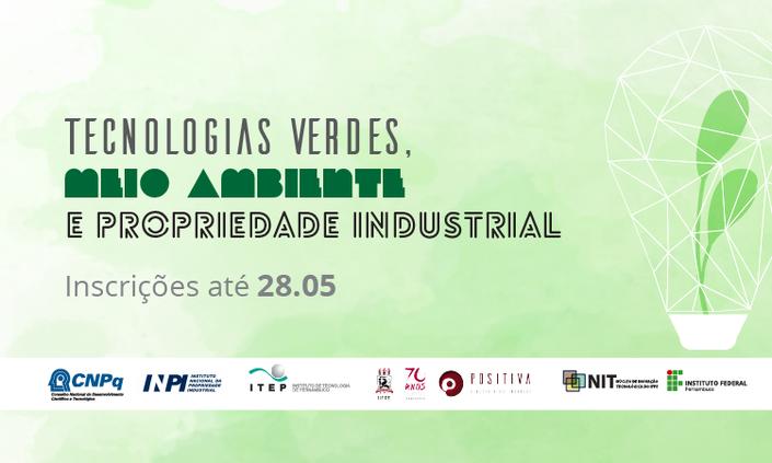 """IFPE promove evento sobre """"Tecnologias verdes e propriedade intelectual"""""""