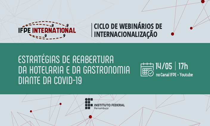 IFPE realiza segundo encontro do Ciclo de Webinários de Internacionalização