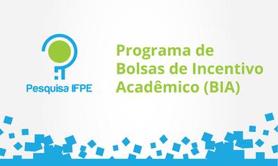 Objetivo do edital foi selecionar estudantes para concessão de Bolsas de Incentivo Acadêmico