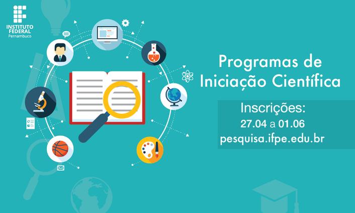 Propesq lança editais de IC&T do IFPE