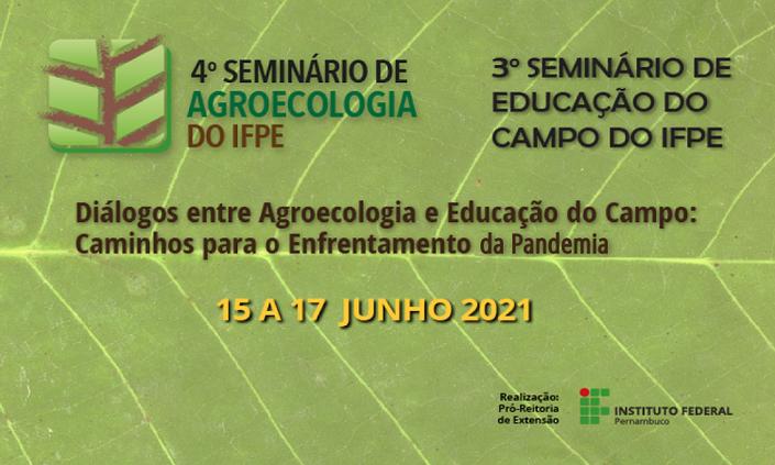 Prorrogado prazo para submissão de atividades dos Seminários de Agroecologia e de Educação do Campo