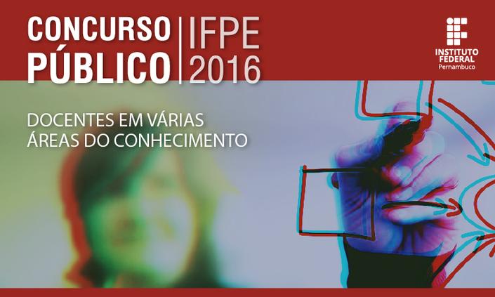 Prova do concurso para docentes do IFPE acontece domingo (11)