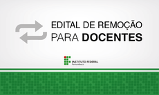 Edital de Remoção para Docentes