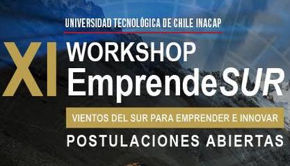 XI Workshop EmprendeSUR recebe inscrições de trabalhos até dia 14 de julho