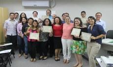 Grupo foi recebido pela reitora Anália Ribeiro