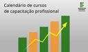 Calendário de cursos de capacitação profissional
